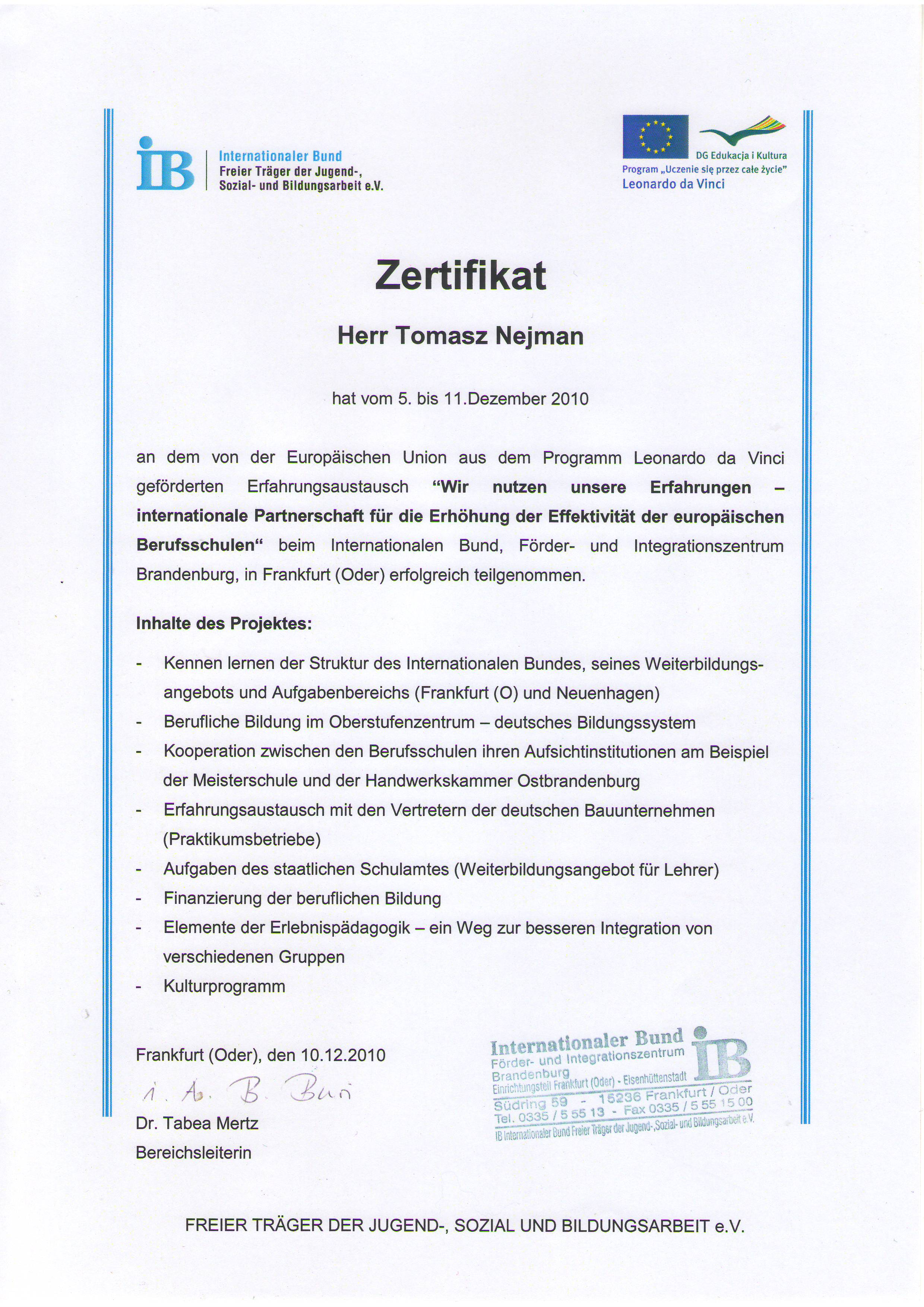 Szkolenie - certyfikat - hydraulik Płock