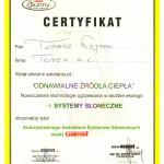 Szkolenie odnawialne źródła energii certyfikat